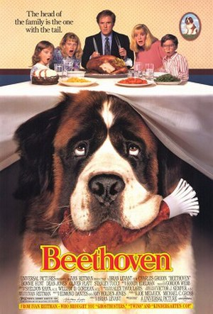 Beethoven (film) - Theatrical release poster