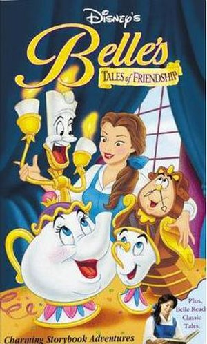 Belle's Tales of Friendship - VHS cover art