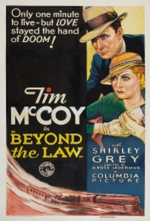 Beyond the Law (1934 film) - Film poster