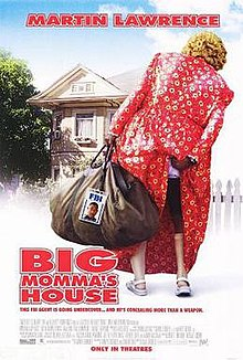 A fat woman in a red dress, carrying a big brown bag, and scratching her ass