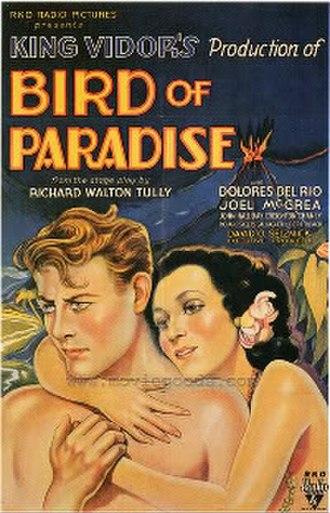 Bird of Paradise (1932 film) - Film poster