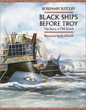 Black Ships Before Troy - Front cover of first edition
