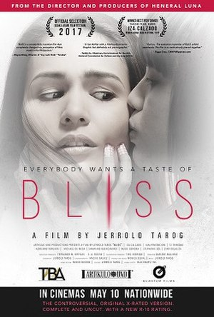 Bliss (2017 film) - Theatrical release poster