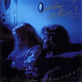 Blue (Klaus Dinger album) - Image: Blue 1999cover