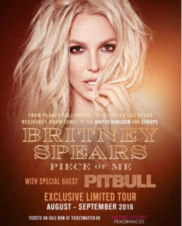 Piece of Me Tour Eighth world tour by American pop singer Britney Spears.