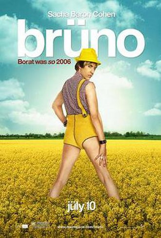Brüno - Theatrical release poster