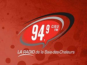 CIEU-FM - Image: CIEU 94.9 106.1 logo