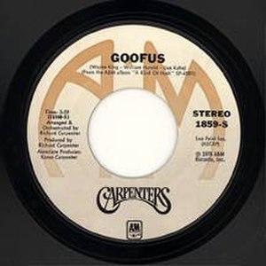 Goofus (song) - Image: Carps Goofus 45