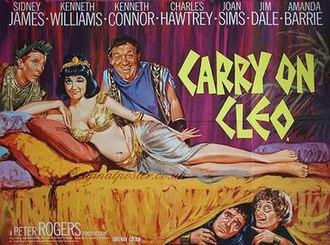 Carry On Cleo - Original UK quad poster