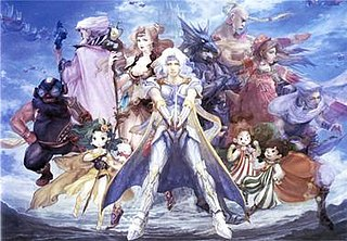 Characters of the <i>Final Fantasy IV</i> series Wikimedia list article