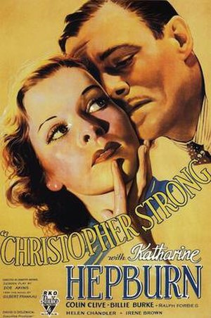Christopher Strong - Original theatrical poster