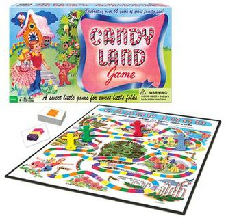 Candy Land - Image: Classic Candy Land by Winning Moves