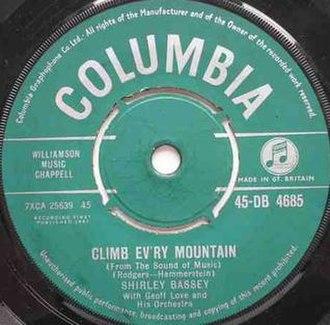 Climb Ev'ry Mountain - Image: Climb Ev'ry Mountain
