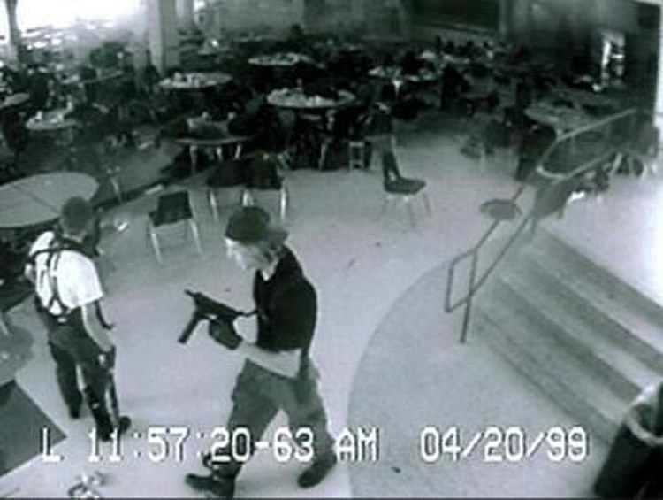 Columbine Shooting Security Camera