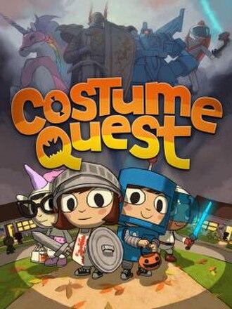Costume Quest - Image: Costume quest cover