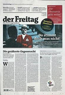 <i>Der Freitag</i> German weekly newspaper