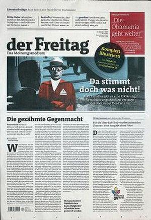 Der Freitag - Image: Cover of der Freitag