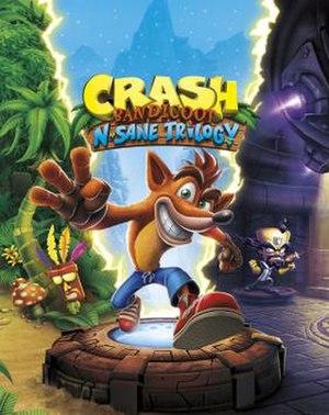 Crash Bandicoot N. Sane Trilogy - Image: Crash Bandicoot N. Sane Trilogy cover art