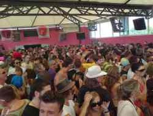 DC10 (nightclub) - The open top floor of the club in 2007.