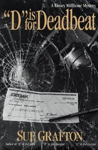 """D"" Is for Deadbeat - Cover of the book ""D"" Is for Deadbeat by Sue Grafton."