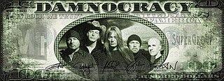 Damnocracy heavy metal supergroup
