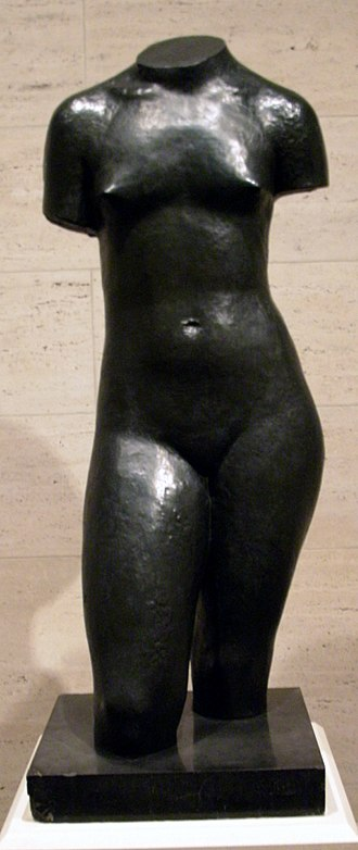 Charles Despiau - Adolescent Girl, bronze in the National Gallery of Art