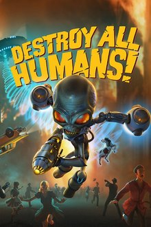 Xbox Free Games June 2020.Destroy All Humans 2020 Video Game Wikipedia