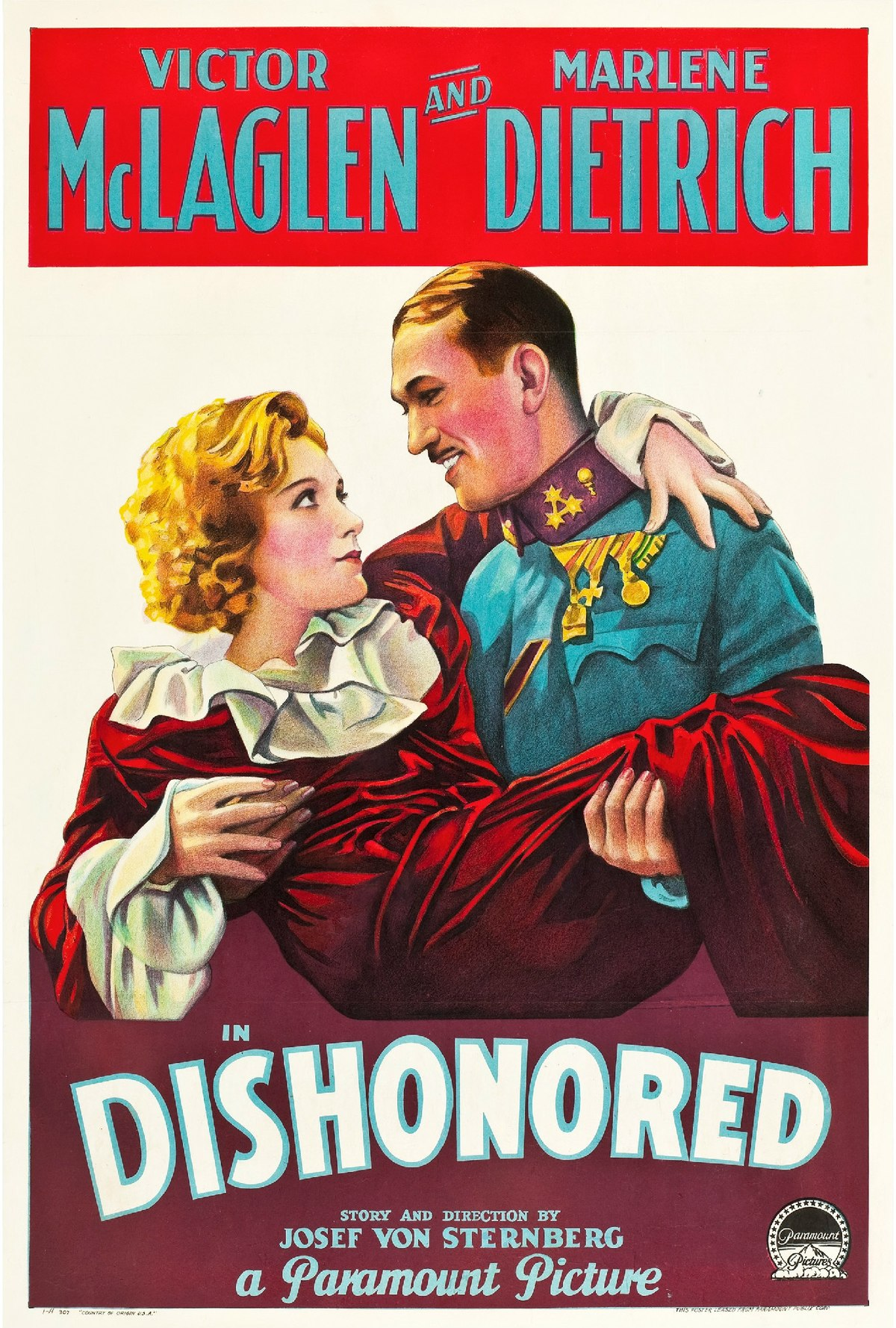 Dishonored (film) - Wikipedia