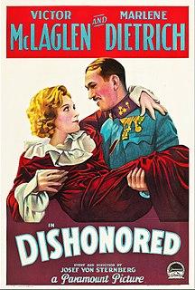 <i>Dishonored</i> (film) 1931 film
