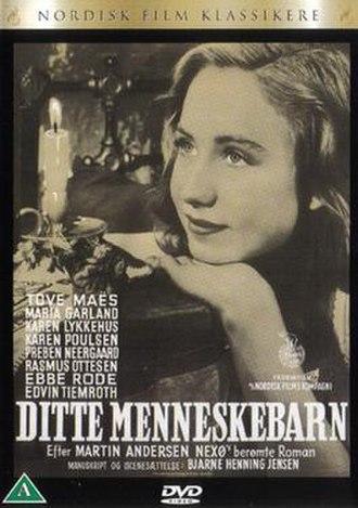 Ditte, Child of Man - Front cover of the Danish DVD for Ditte Menneskebarn