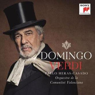 Verdi baritone arias (Plácido Domingo album) - Image: Domingo Verdi baritone arias