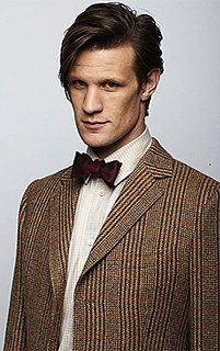 Eleventh Doctor Fictional character from the TV series Doctor Who