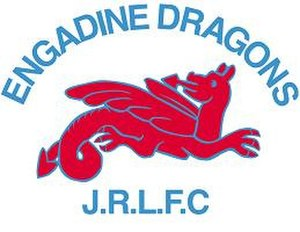 Engadine Dragons - Image: Engadine Dragons logo