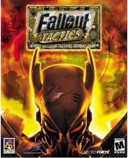 <i>Fallout Tactics: Brotherhood of Steel</i> video game