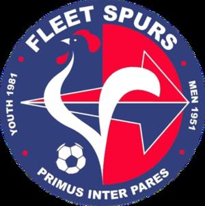 Fleet Spurs F.C. - Image: Fleet Spurs F.C. logo