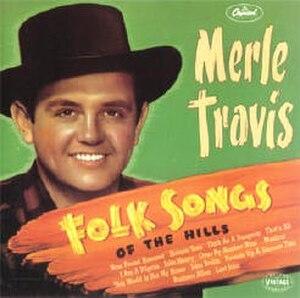Folk Songs of the Hills - Image: Folk Songs Travis