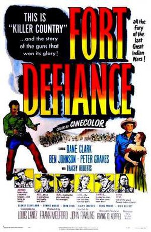 Fort Defiance (film) - Theatrical release poster