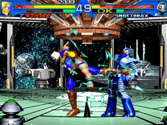 Thunderstrike (Eric Masterson) - Thunderstrike in Avengers in Galactic Storm.