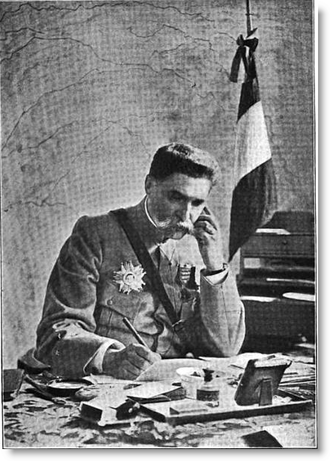 Auguste Hirschauer - General Auguste-Édouard Hirschauer, Chief of French Military Aeronautics, contemplating changes to the French Aviation Service, 1917