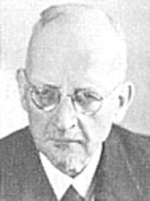 Gerhard Kittel - Gerhard Kittel, later in life.