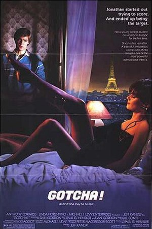 Gotcha! (1985 film) - Theatrical release poster