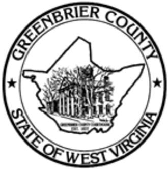 Greenbrier County, West Virginia - Image: Greenbrier County wv seal