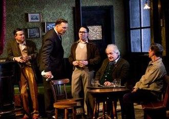 Hangmen (play) - Original 2015 cast of Hangmen