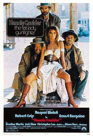 Hannie Caulder - Original poster