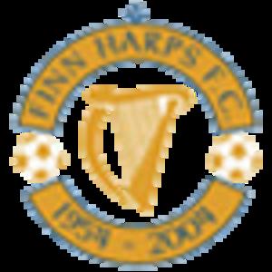 Finn Harps F.C. - The golden jubilee crest.