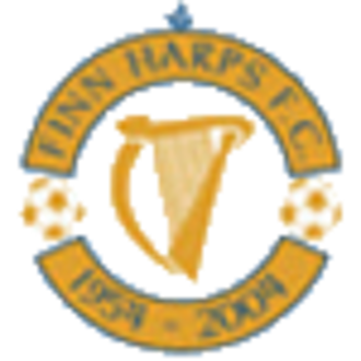 Finn Harps F.C. - The golden jubilee crest.