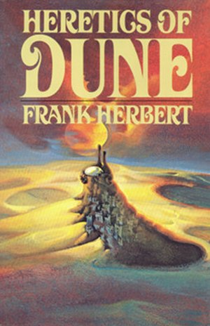 Heretics of Dune - First edition cover