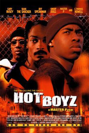 Hot Boyz (film) - Theatrical release poster
