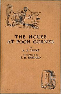 <i>The House at Pooh Corner</i> 1928 book by A. A. Milne