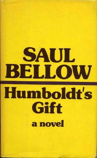 Humboldt's Gift - Image: Humboldtsgift